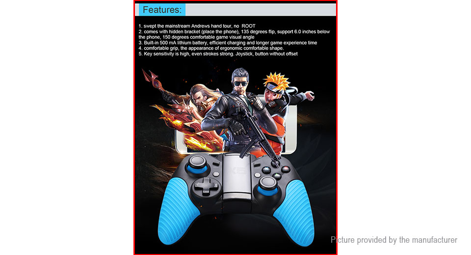 Authentic Gamesir X5 Bluetooth V4 0 Gamepad Game Controller