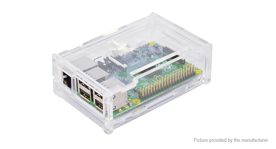 Product Image: protective-acrylic-box-enclosure-for-raspberry-pi