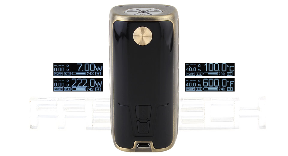 Product Image: authentic-gtrs-p222-222w-tc-vw-apv-box-mod