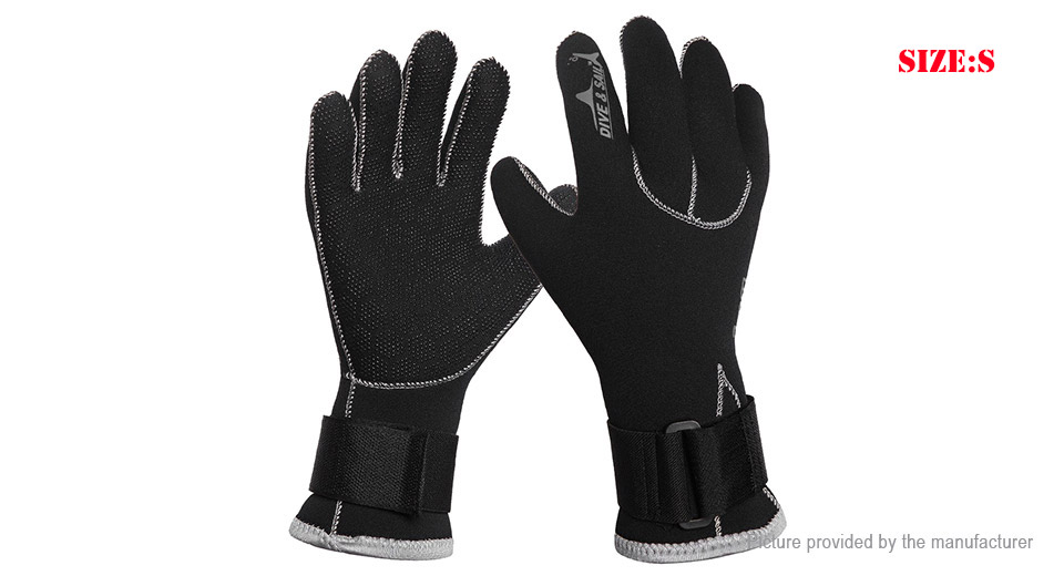 Product Image: dive-sail-unisex-anti-slip-3mm-diving-gloves-size