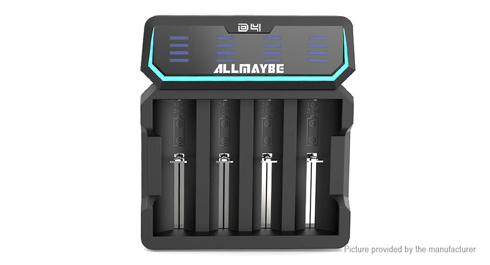 Product Image: allmaybe-xtar-d4-4-slot-intelligent-li-ion