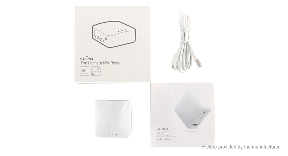Authentic GL-iNet GL-AR150 150Mbps Mini Smart Wireless Router