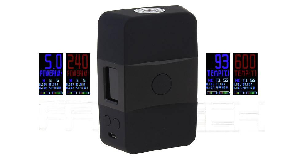 Product Image: authentic-votech-usv-acr-240w-tc-vw-apv-box-mod