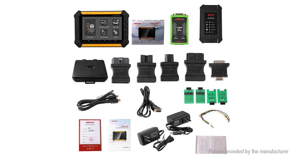OBDSTAR X300 DP Tablet Key Programmer Car Diagnostic Tester Scanner
