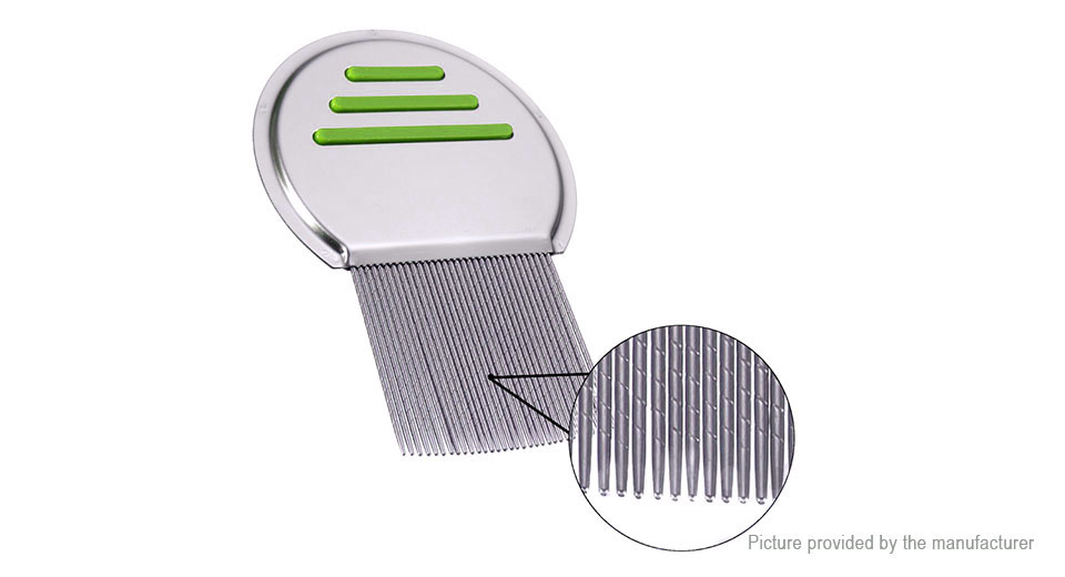 Stainless Steel Pet Hair Grooming Comb