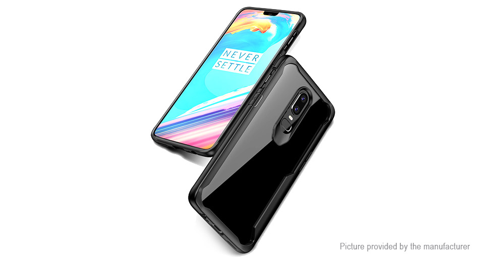 Viseaon TPU + PC Protective Back Case Cover for OnePlus 6