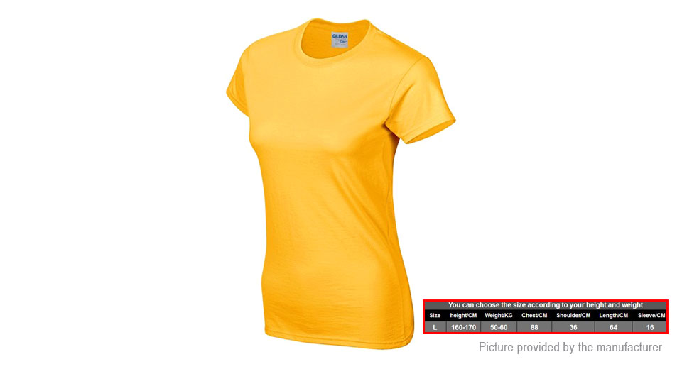 7.74 Women s Solid Color Round Collar Cotton T-shirt (Size L) at ... 73023fa75