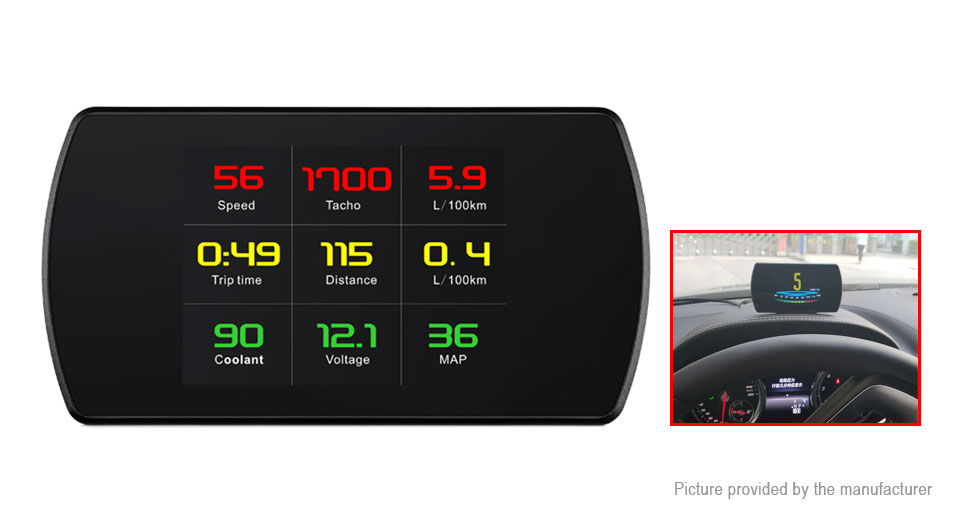 Product Image: wiiyii-p12-car-on-board-computer-digital-driving