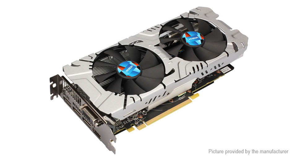 Yeston Radeon RX580 8GB GDDR5 Desktop Graphics Card
