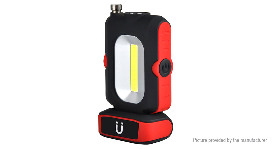 Product Image: 1-led-1-cob-3-mode-magnetic-led-flashlight-work