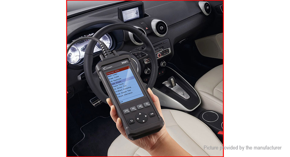 Launch Creader CR9081 Car Code Reader OBD2 OBD II Diagnostic Scanner