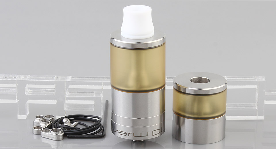 Product Image: dvarw-dl-v3-styled-rta-rebuildable-tank-atomizer