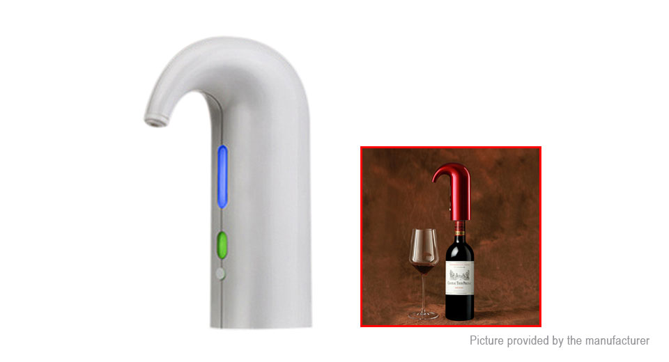 Product Image: kcasa-electric-smart-fast-wine-decanter-aerator