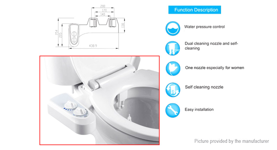 Excellent Smart Toilet Bidet Flushbonading Female Hygeian Flushing Device Gmtry Best Dining Table And Chair Ideas Images Gmtryco