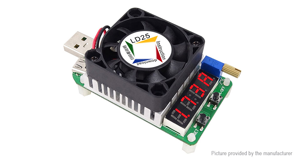 Steady Electronic Load Adjustable Resistor Power Current Voltage Test 25w Led Tube Display Tester To Ensure Smooth Transmission Consumer Electronics