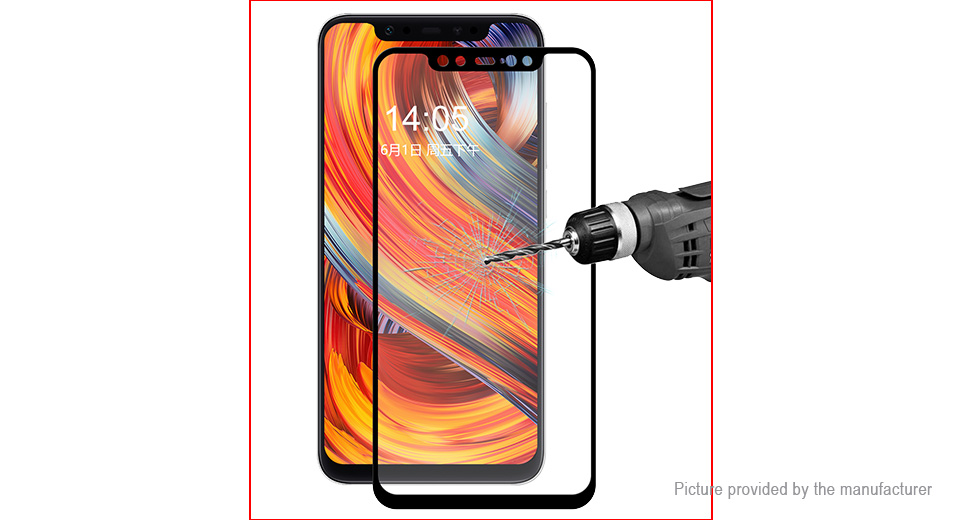 Hat.Prince 2.5D Tempered Glass Screen Protector for Xiaomi Mi 8
