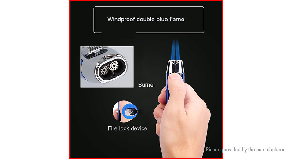 JOBON ZB980 Windproof Refillable Butane Gas Lighter