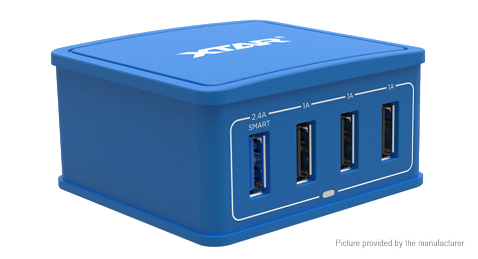 Product Image: authentic-xtar-4u-4-port-usb-wall-charger-power