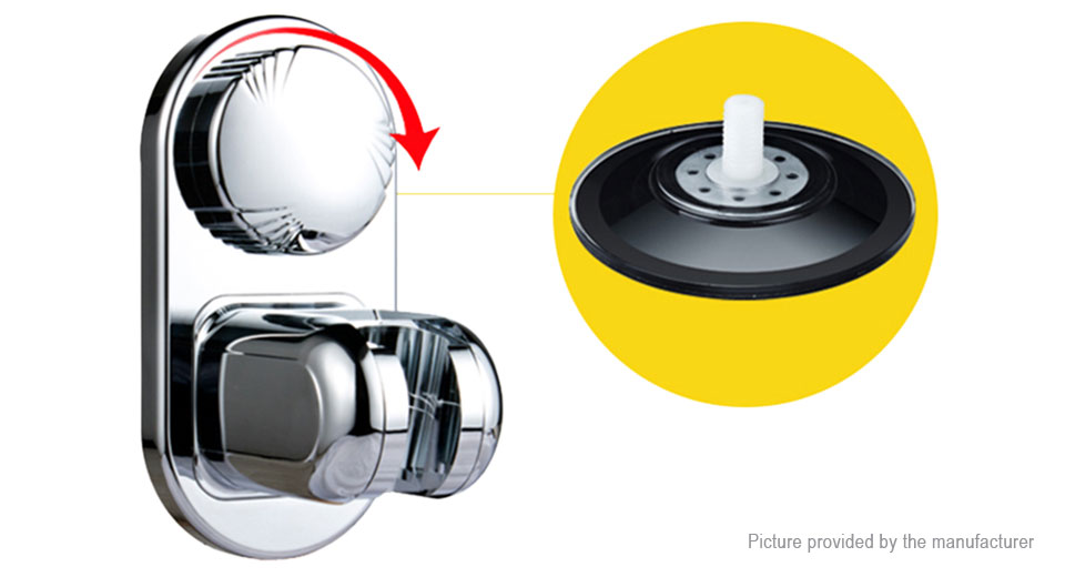 Product Image: Universal Adjustable Suction Cup Base Shower Head