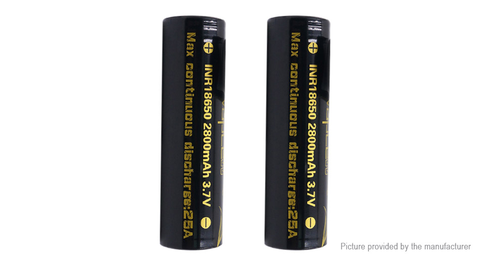 Product Image: vapcell-inr-18650-3-7v-2800mah-rechargeable-li