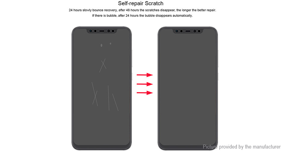 Hat.Prince 3D TPU + TPE + PET Screen Protector for Xiaomi Mi 8