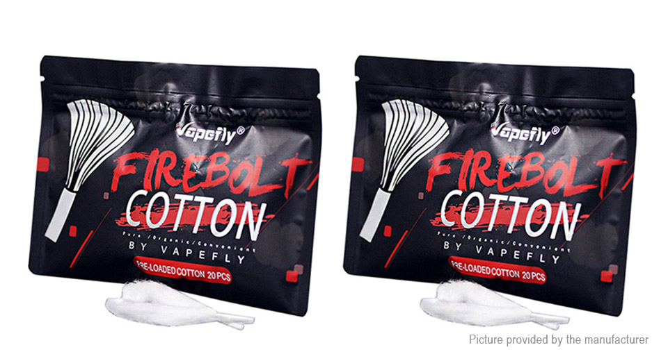 Product Image: authentic-firebolt-organic-cotton-wick-2-pack