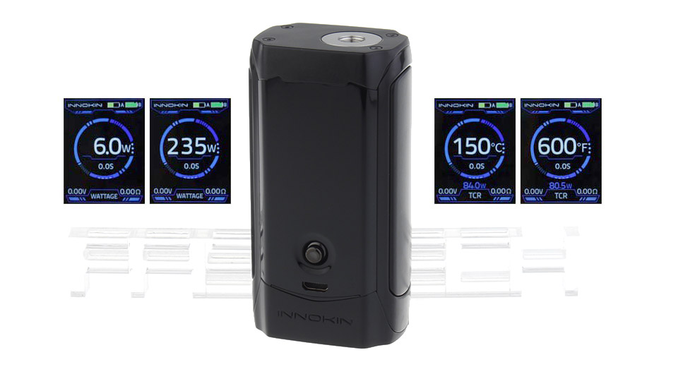 Product Image: authentic-innokin-proton-235w-tc-vw-apv-box-mod