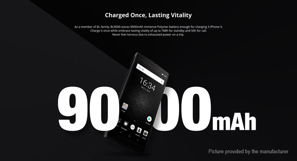 "Authentic DOOGEE BL9000 5.99"" IPS Octa-Core Oreo LTE Smartphone (64GB/EU)"