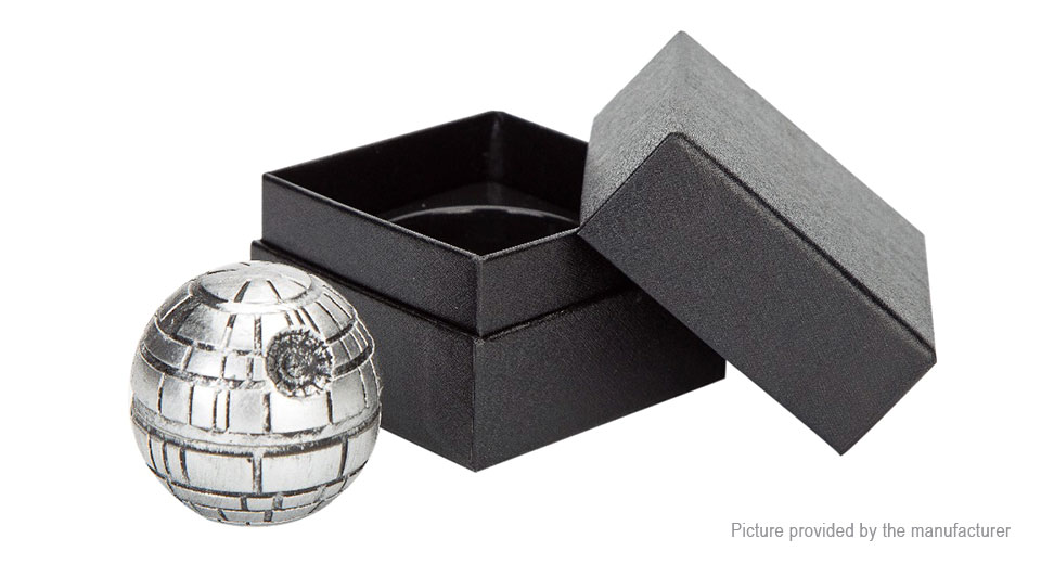 Star Wars Styled Zinc Alloy 3-Layer Herb Tobacco Grinder Hand Crusher Muller
