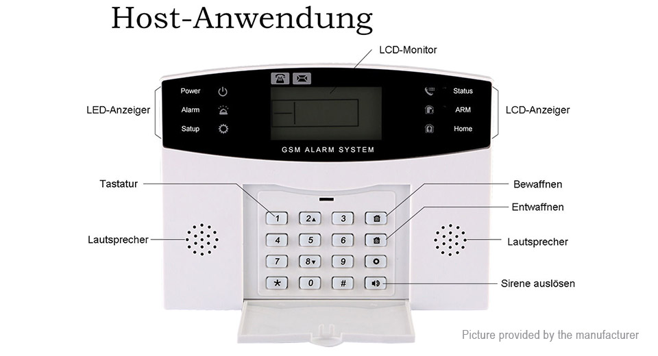 85-FA IR Wireless GSM Home Security System Intruder Alarm (AU)