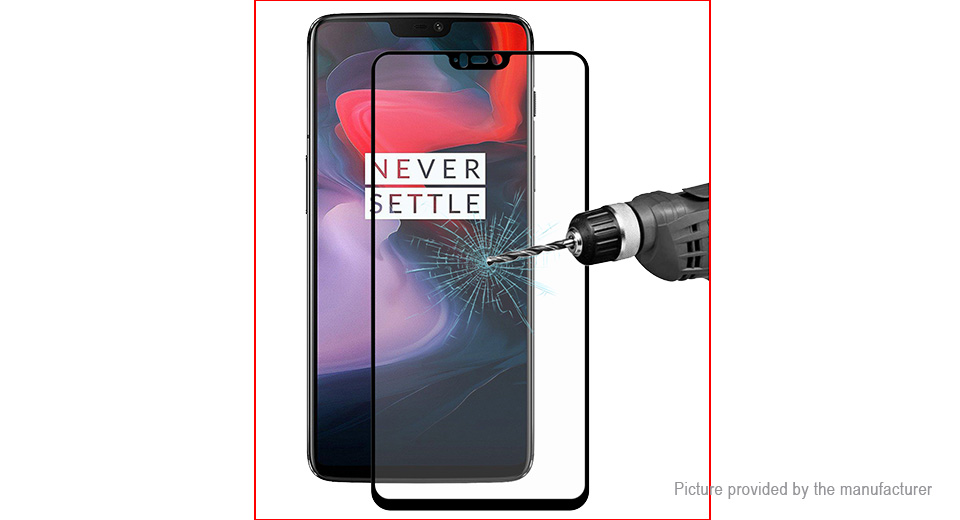 Hat.Prince 2.5D Tempered Glass Screen Protector for OnePlus 6