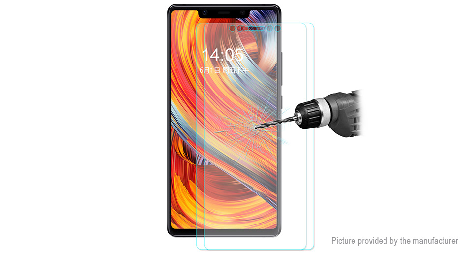 Hat.Prince 2.5D Tempered Glass Screen Protector for Xiaomi Mi 8 SE (2-Pack)