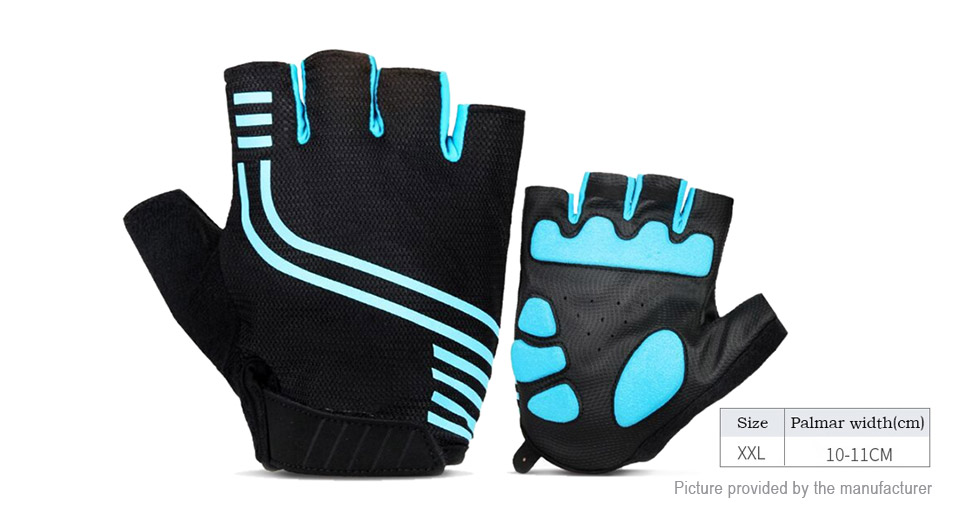 Product Image: unisex-outdoor-cycling-half-finger-gloves-size-2xl