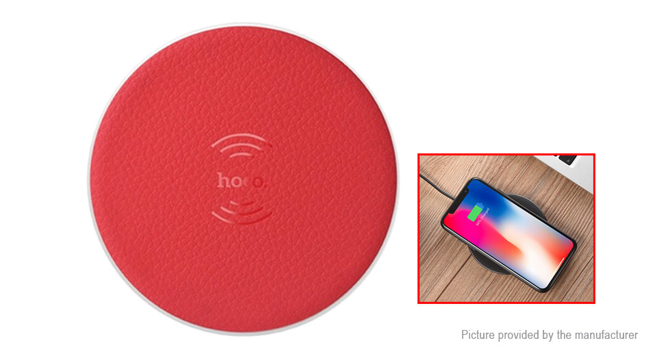 8.42 Authentic hoco CW14 Qi Inductive Wireless Charging Pad - 5W ... 6f543aac55b