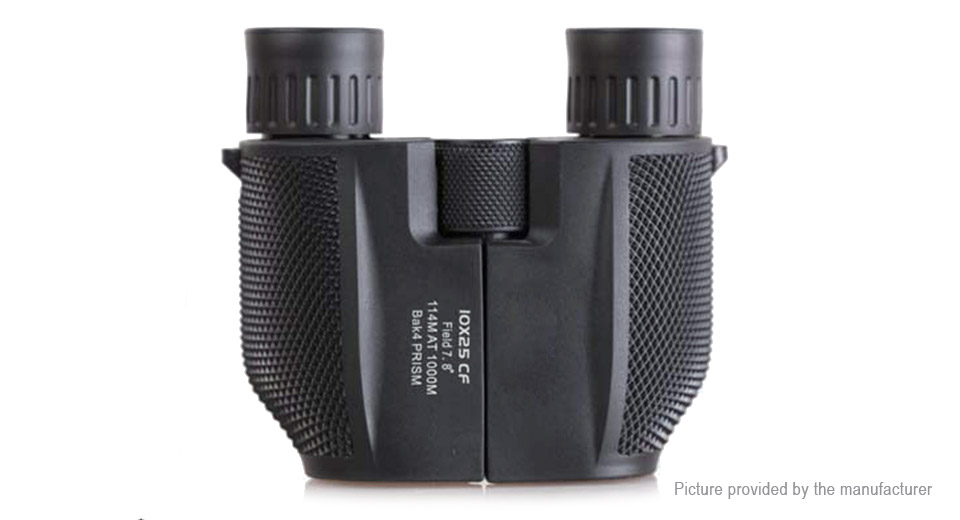 10X 25mm HD Portable Outdoor Hunting Binocular Telescope thumbnail