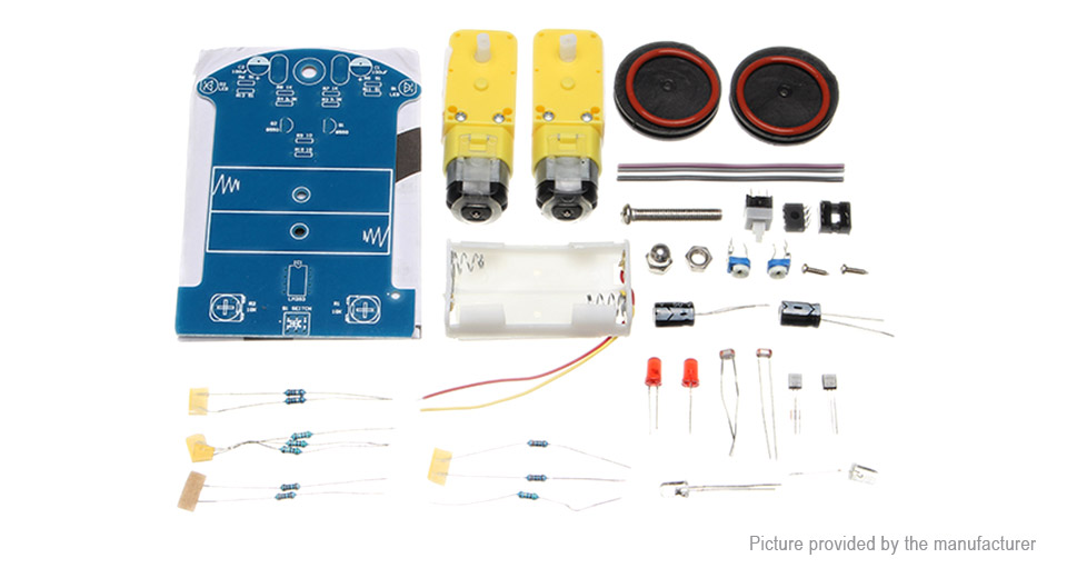 D2-1 Intelligent Tracking Smart Car DIY Kit