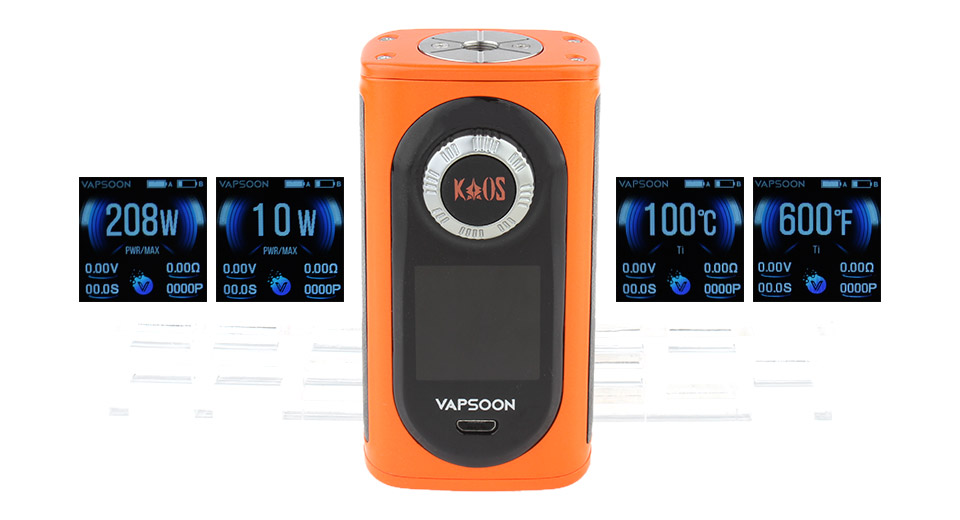 Product Image: authentic-laisimo-vapsoon-spin-208w-tc-vw-apv-box