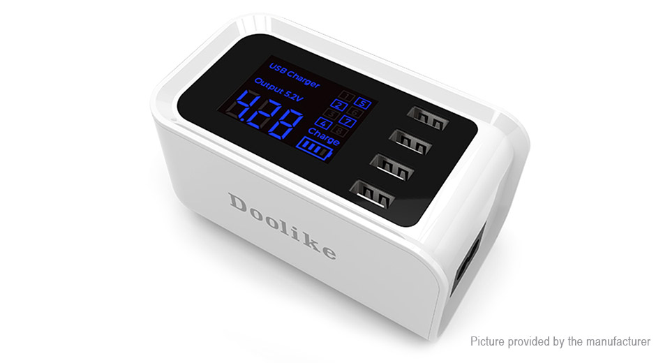 Product Image: doolike-ch19-intelligent-4-port-usb-power-strip