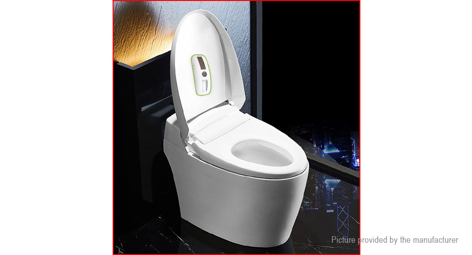 Puretta Solar Powered UV Light Automatic Smart Toilet Sterilizer