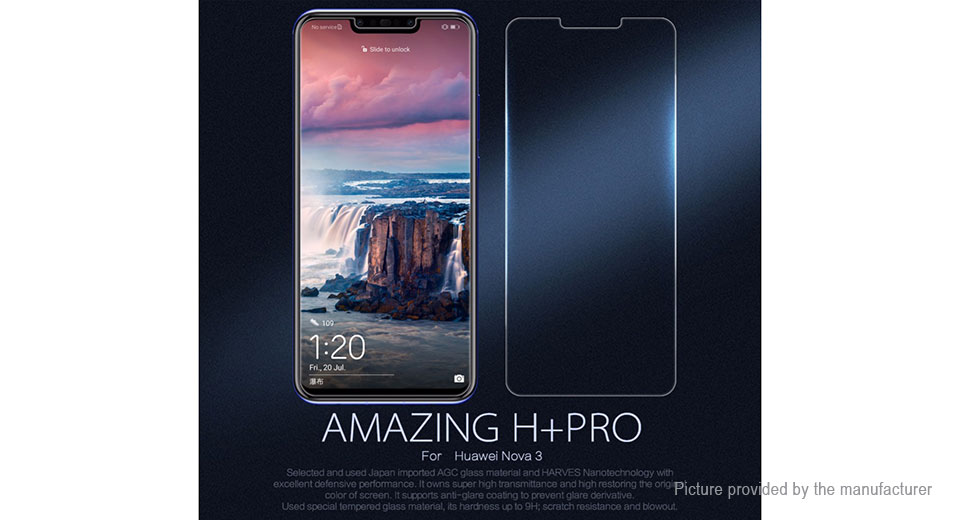 Nillkin H+Pro Tempered Glass Screen Protector for Huawei Nova 3