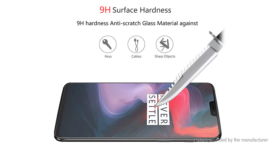 Hat.Prince 2.5D Tempered Glass Screen Protector for Xiaomi Mi 8 SE