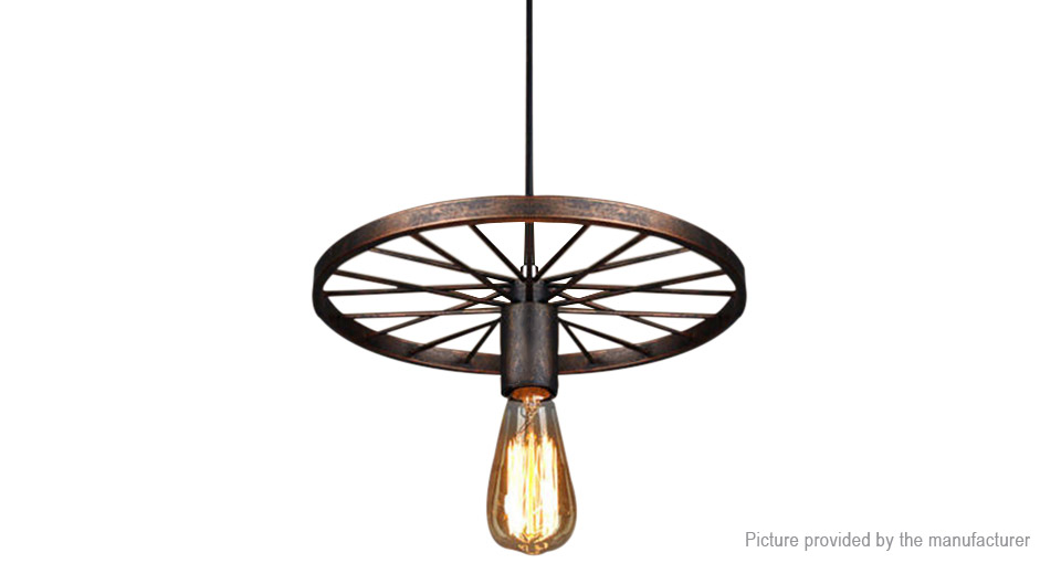 Product Image: industrial-retro-wheel-chandelier-ceiling-light