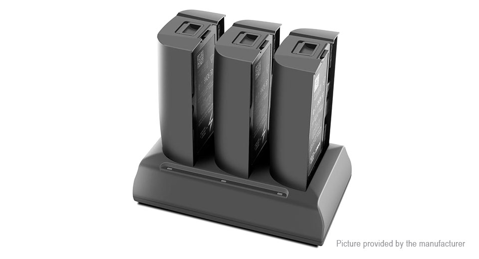3-in-1 Battery Charger for Parrot Bebop Drone 2 Flight Battery (US)