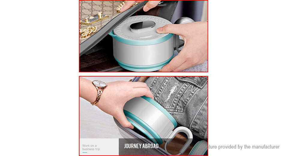 LIFE ELEMENT I10 Portable Travel Folding Electric Heating Water Kettle