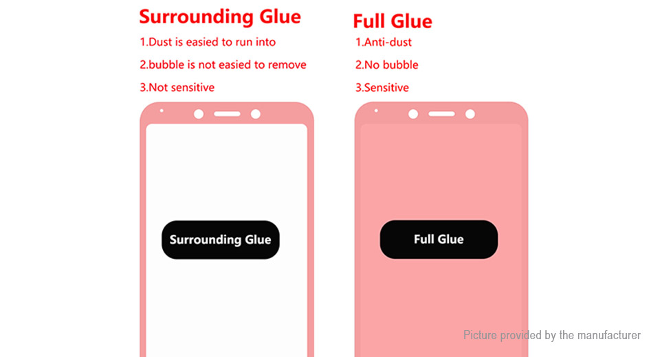 Hat.Prince 2.5D Tempered Glass Screen Protector for Xiaomi Redmi 6/6A