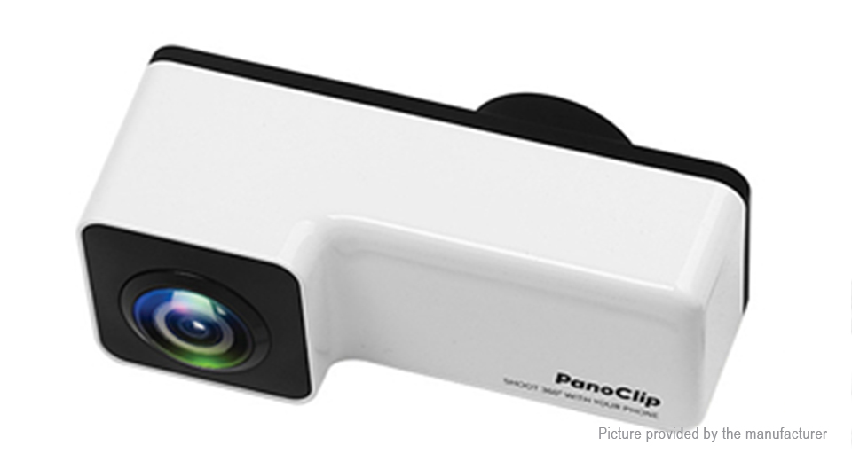PanoClip Snap-on 360' Panoramic Camera Lens for iPhone 7 / 8