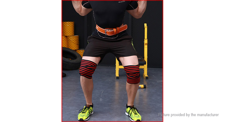 15 78 Free Shipping Valeo Hx 1 Weight Lifting Knee Support Brace Sports Bandage Protector Pair Black Grey Pair At M Fasttech Com Fasttech Mobile