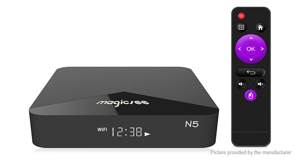 Product Image: authentic-magicsee-n5-quad-core-oreo-tv-box-16gb
