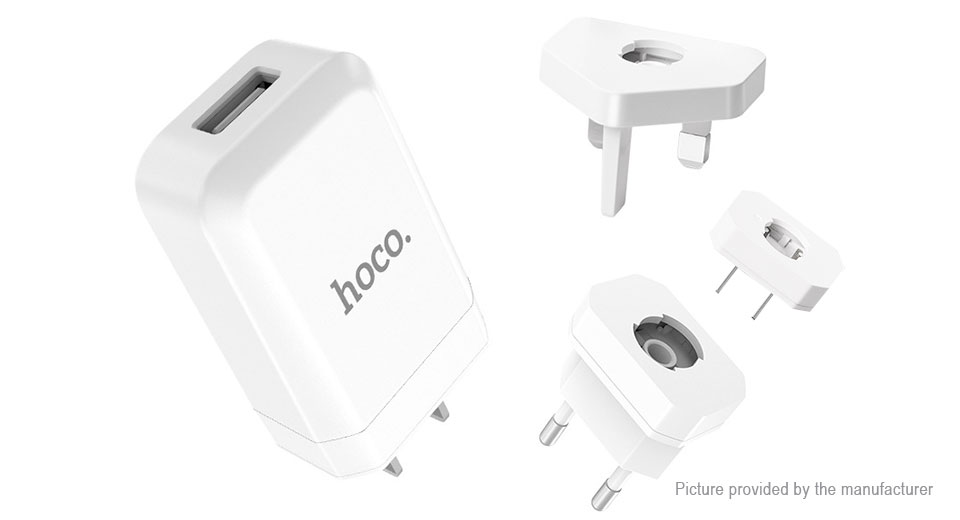 Product Image: authentic-hoco-c45-cool-rotary-usb-wall-charger
