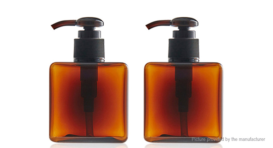 Product Image: empty-soap-shampoo-pump-square-bottle-travel